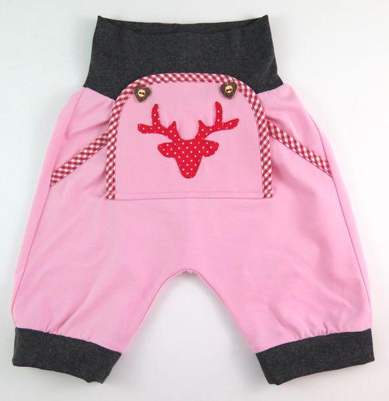 Hosen - Baby kurze Trachtenhose knielang - ein Designerstück von SissisTraumland…