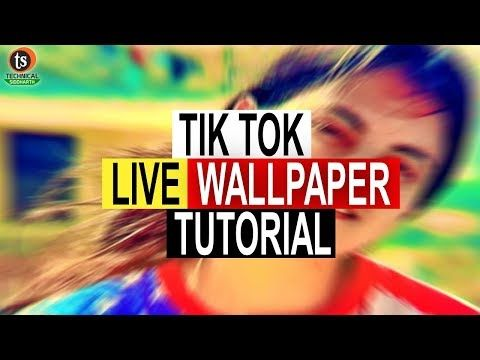 How To Set Tik Tok Video As A Home Screen Live Wallpaper On Android Technical Siddharth Youtube Homescreen Live Wallpapers Bollywood Songs