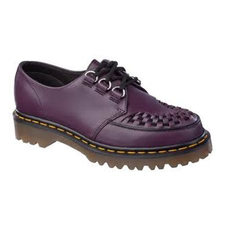 £95 Dr. Martens Ramsey Shoe. I have these in purple, and they go with every single outfit I possess, plus, they look no different now to when I first bought them, and I pretty much wear them everyday.