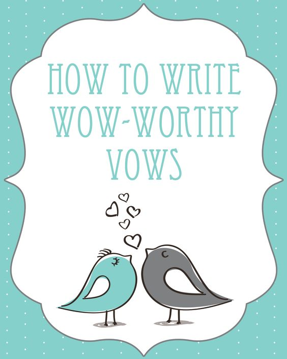 help with writing vows Sample wedding vows to inspire you includes traditional, religious, non-traditional and personalized wedding vows for your special wedding ceremony.