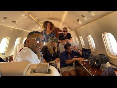 فيديو سيجار وطائرة خاصة شاهد رحلة عودة محمد رمضان من دبي الي مصر Talk Show Scenes Talk