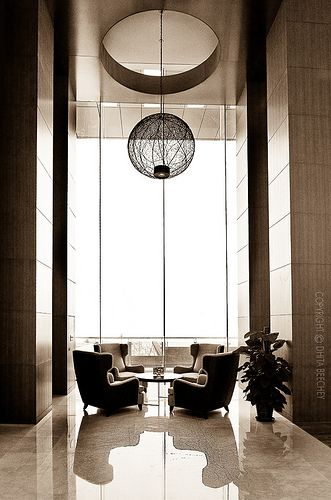 definition for interior design - Lobbies, Spaces and Light fixtures on Pinterest