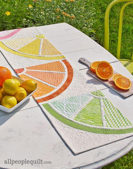 Piece N Quilt: Citrus Squeeze - Custom Machine Quilting by Natalia ... : piece n quilt - Adamdwight.com