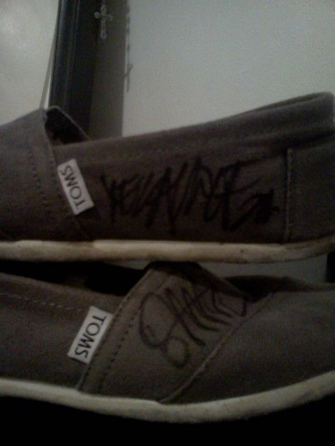 Yelawolf and Rittz signed my shoes! :D never wearing them again