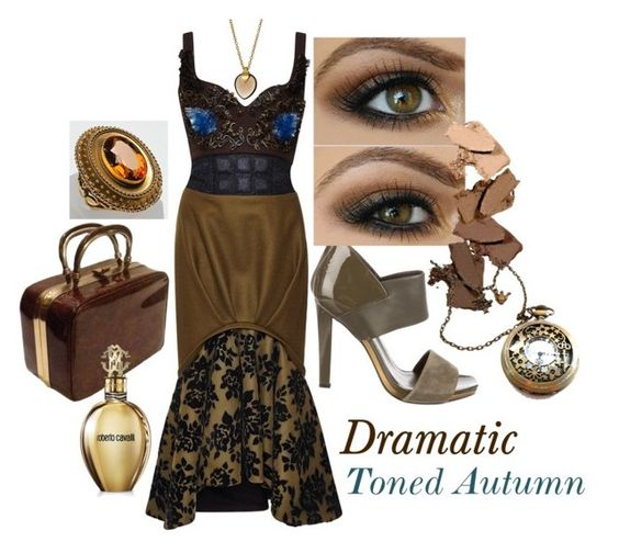 """""""Dramatic Toned Autumn"""" by prettyyourworld ❤ liked on Polyvore"""
