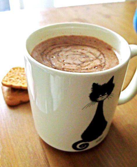 Recette du chocolat chaud (avec du vrai chocolat en tablette) chocolatchaud