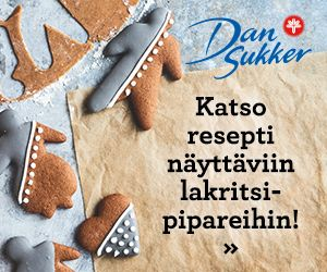 Lakritsipiparit jouluksi | Recipe | Gingerbread cookies, Food, Desserts