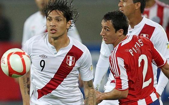 Selección Peruana, Paolo Guerrero,  Perú vs Paraguay Eliminatorias Brasil 2014 #SelecciónPeruana