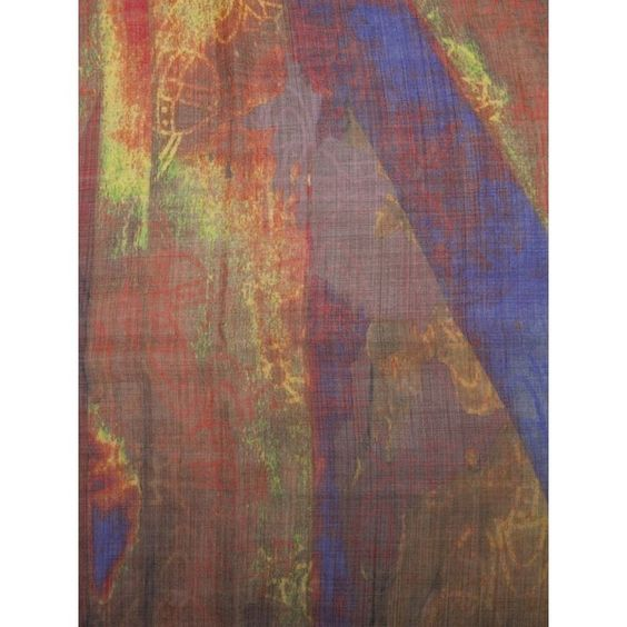 Vivienne Westwood Flag fringe scarf ($298) ❤ liked on Polyvore