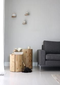 Blocks of wood make  #home #house #design #interior #ideas #homedesign #interiordesign #decorations #furniture #homedecor