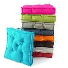 Cuscino Materasso 8 Colori Cuscino Sedia 40 x 40 cm Qualità Superiore