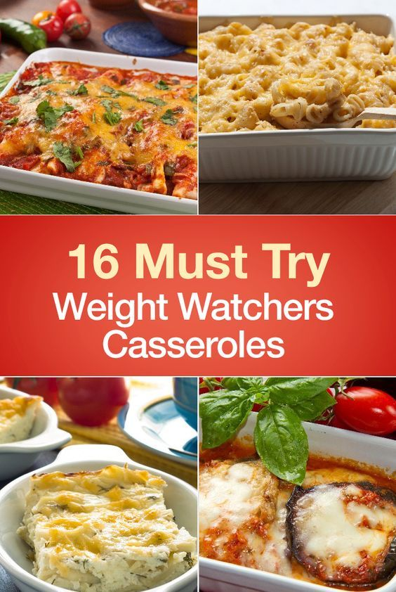 16 Must Try Weight Watchers Casseroles