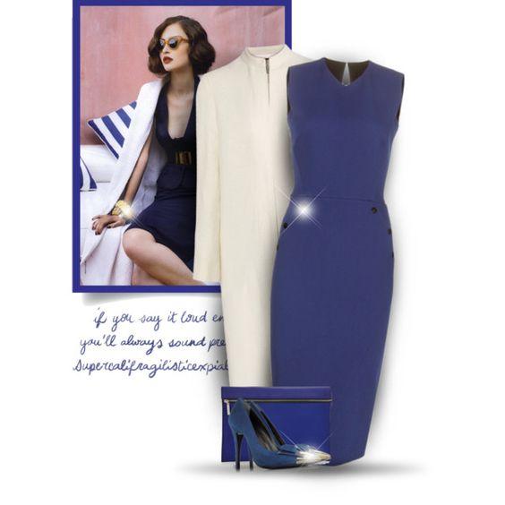 Victoria Beckham  dress by bliznec-anna on Polyvore featuring moda, Victoria Beckham, The Row and Loriblu