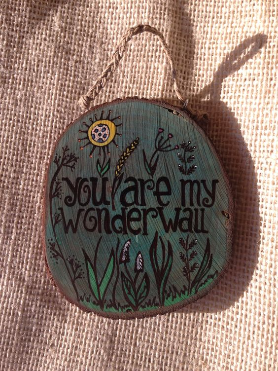 you are my wonderwall by RoseAndDandelion on Etsy
