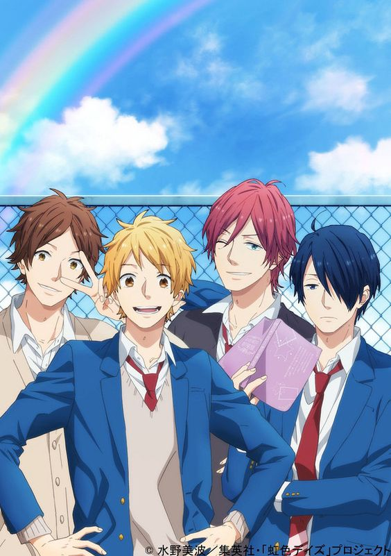 Nijiiro Days - the episodes are only 15 minutes long, but it's still actually kind of cute: