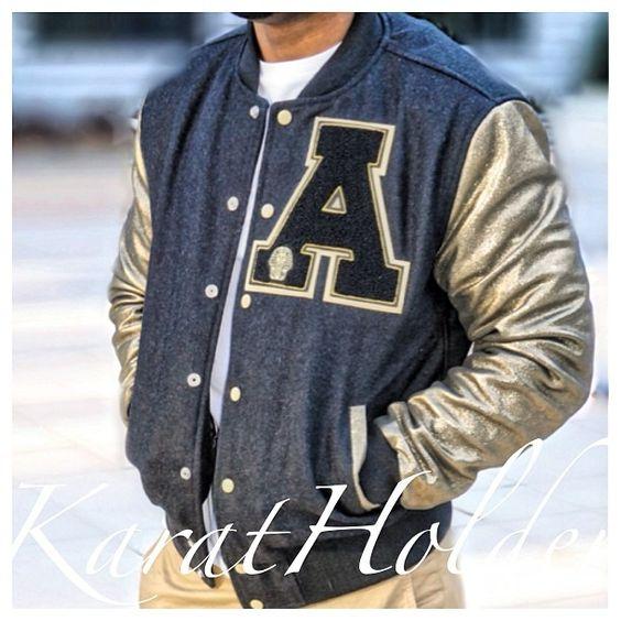 Alpha Phi Alpha jacket: