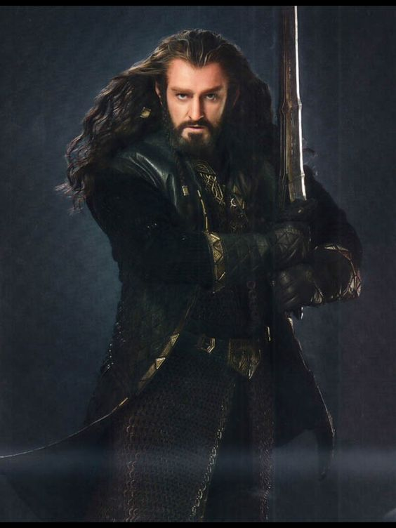 Thorin in his new armor