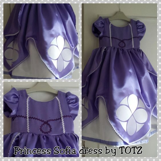 Princess Sofia dress tutorial. Good tutorial for DIY petticoat