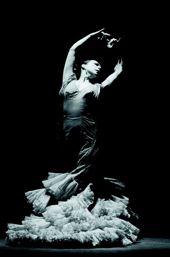 FLAMENCO DANCER.....CRISTINA HOYOS.....PARTAGE OF JOSIE LEONETTI...