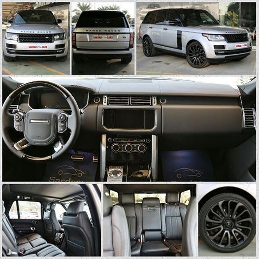#Range Rover #Supercharged #2015MY # SilverExterior #BlackInterior #WithBlackPack #CanadianSpecs #SUV #LuxurySUV