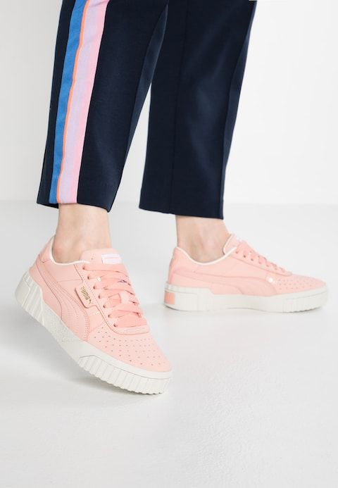 Puma CALI - Trainers - peach bud - Zalando.co.uk