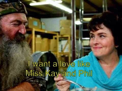 Duck Dynasty.. I want a love like Miss Kay & Phil