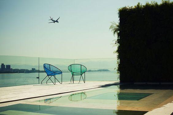 A Penthouse By Arthur Casas In Urca, Rio de Janeiro, Brazil | photo © Matthieu Salvaing