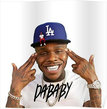Rabbo Rap Dababy Hip Hop Baby On Baby Tour 2019 Poster By Iolsaokandp In 2021 Rap Album Covers Rap Cute Rappers
