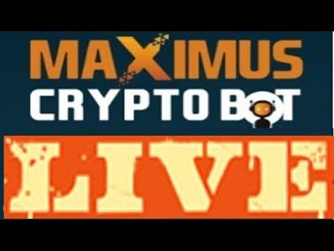 Profitable Trading With Maximus Cryptobot Signal Software Live