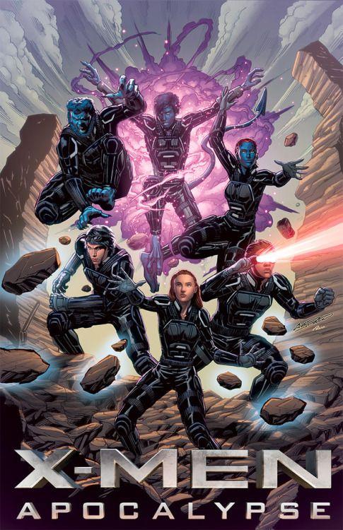 X Men Apocalypse Xmen Marvel Comics Art Nightcrawler Xmen