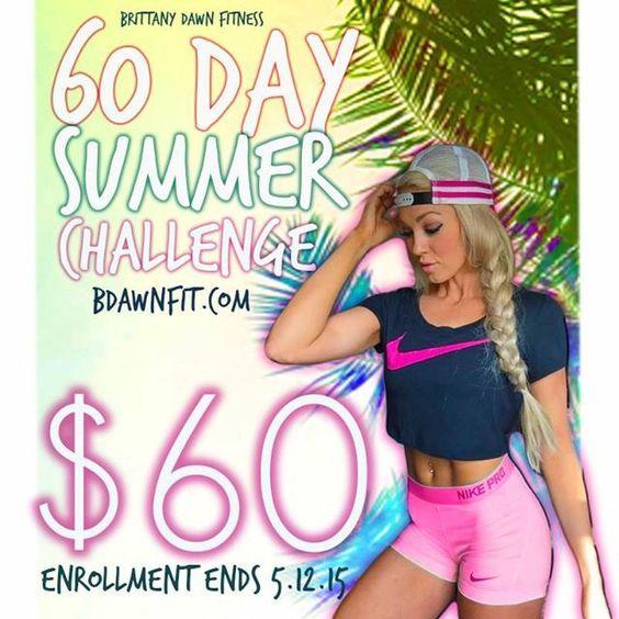 Enrollment ends May 12!  www.BDawnFit.com