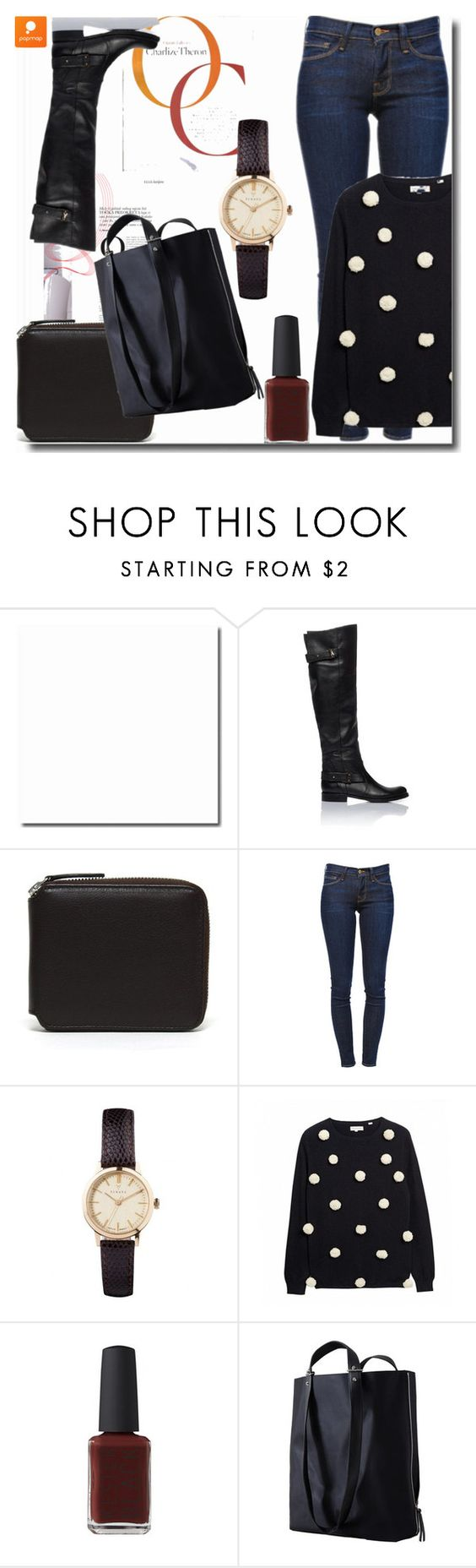 """""""Popmap 16"""" by goldenhour ❤ liked on Polyvore featuring Carré Royal, Frame Denim, Chinti and Parker and Haerfest"""