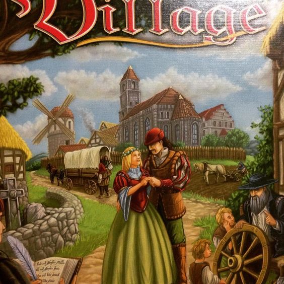 Alguém aí a fim de jogar #village?!
