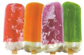 FRUITY POPPERS ideal para ...helados.