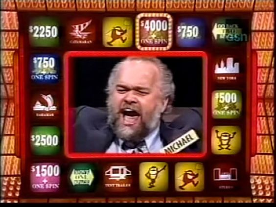 Press Your Luck - In 1984, ice cream truck driver Michael Larson discovered with the help of his VCR's pause button that the movements of the board weren't random but could be memorized. After nervously landing on a Whammy on his 1st attempt he spun 45x's without hitting another. He broke the bank, clearing $ 110,000 a record that still stands.