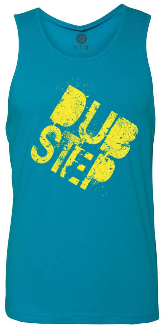 Stamp of Dub Step (Yellow) Tank-Top T-Shirt