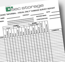 Keeping your pallet racking safe is vitally important. In addition to your annual rack safety inspection by a competent person, you should carry out regular internal #inspections at set intervals (weekly, bi-weekly, monthly etc). But what should you check? Here we take a look with our #PalletRacking #Safety Check-list!