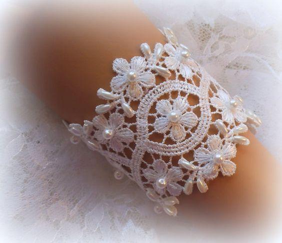 Bridal Wrist Cuff