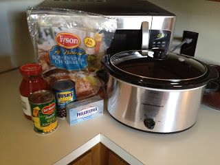Giving Life the One-Two Punch.: Crockpot Creamy Fiesta Chicken
