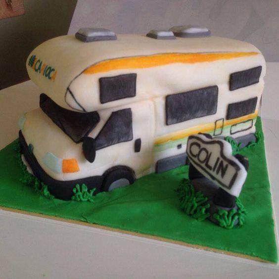 Elegant RVCamper Cake  Cake By CrystalMemories  CakesDecor