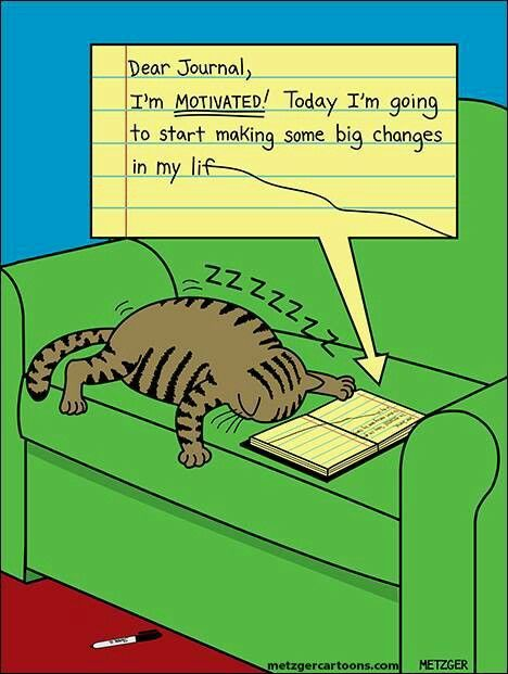 Motivation vs. tiredness