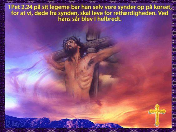 Jesus på korset!