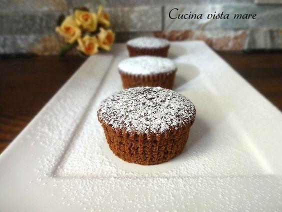 Muffin cioccolato e zucchine