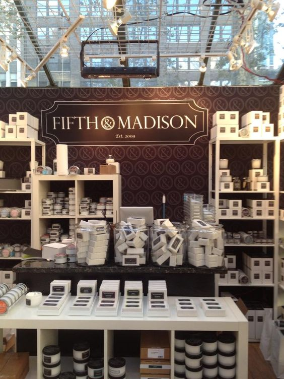 Shop 5th and Madison's luxurious line of soy-based candles ...