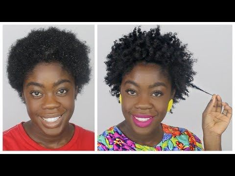 How To Moisturized And Defined Twist Out On Short Natural Hair