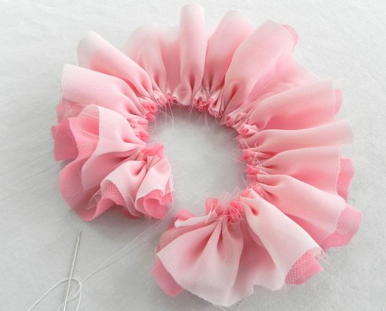 Easy fabric flowers google search wedding ideas for Easy handmade flowers
