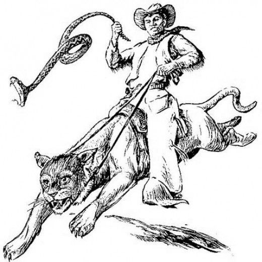 Pecos Bill Coloring Pages Tall Tales Pecos Bill Fairy Tales