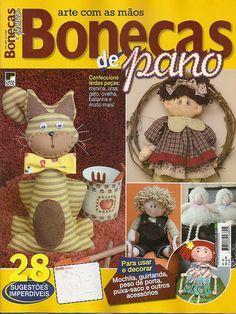 Mais uma Revista nas Bancas... Bonecas de Pano!!!! Partipem do Sorteio... by Atelier Eu & Voce by Andrea Malheiros, via Flickr