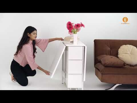 Folding Multipurpose Furniture Malaysia Table Dining Set Youtube