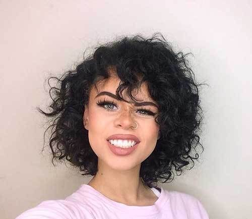 15 Effective Styles For Short Curly Hair 5 Short Haircut For Naturally Curly Hair Shor How To Curl Short Hair Curly Hair Styles Curly Hair Styles Naturally